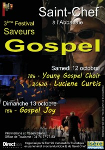 Affiche Saint-Chef 2013 - Revue de presse